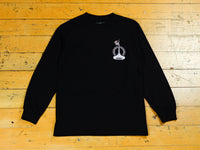 Art Clippy Long sleeve T-Shirt - Black