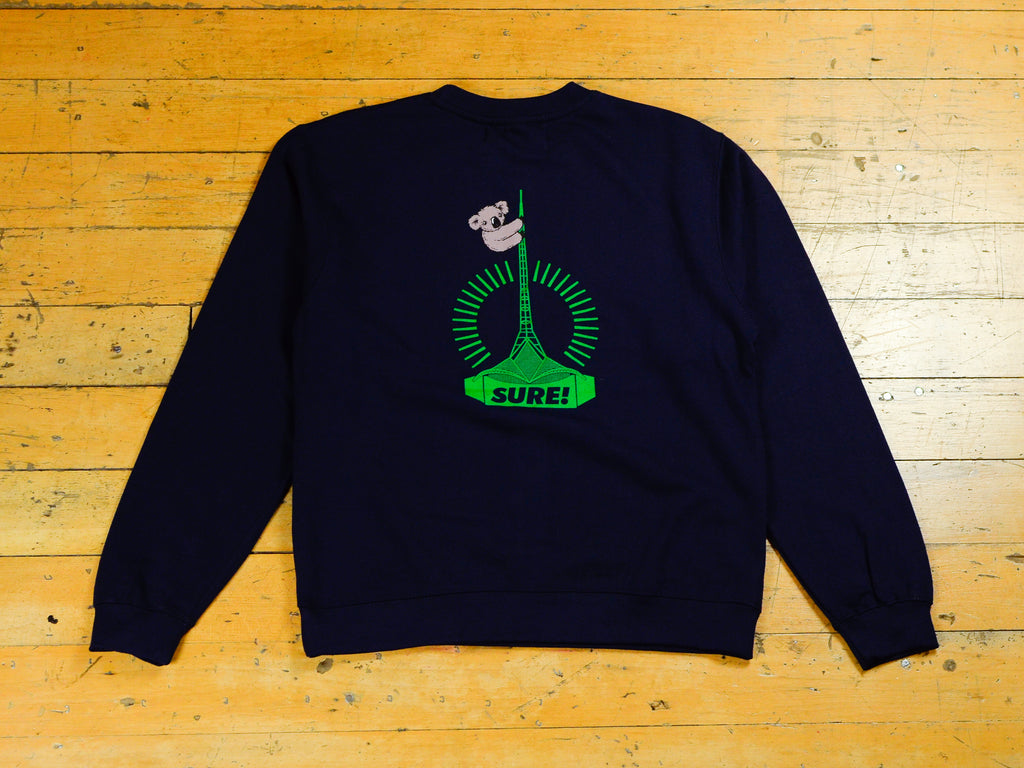 Art Clippy Crew - Navy