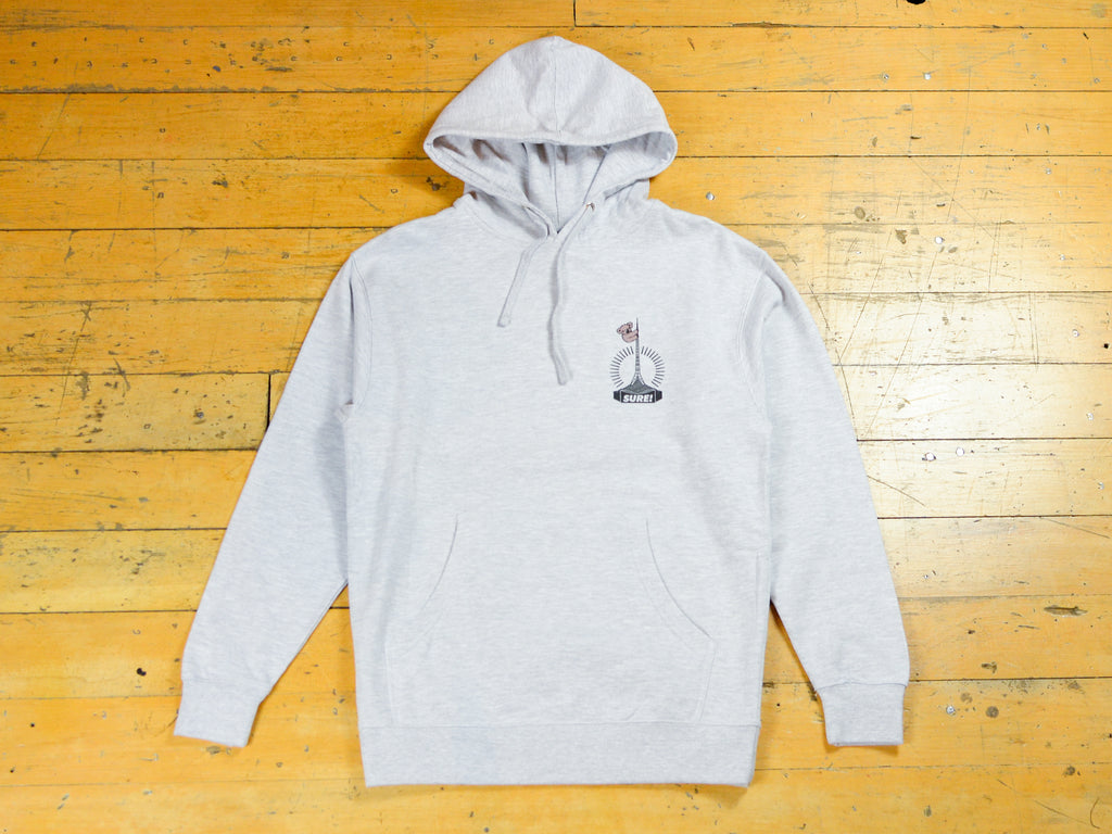 Art Clippy Hood - Athletic Heather