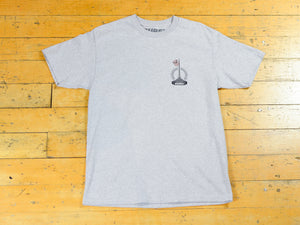 Art Clippy T-Shirt - Athletic Heather