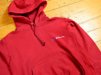 Sure Melbourne Embroidered Champion Reverse Weave Hood - Cardinal
