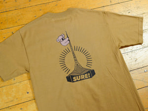 Art Clippy T-Shirt - Safari Green
