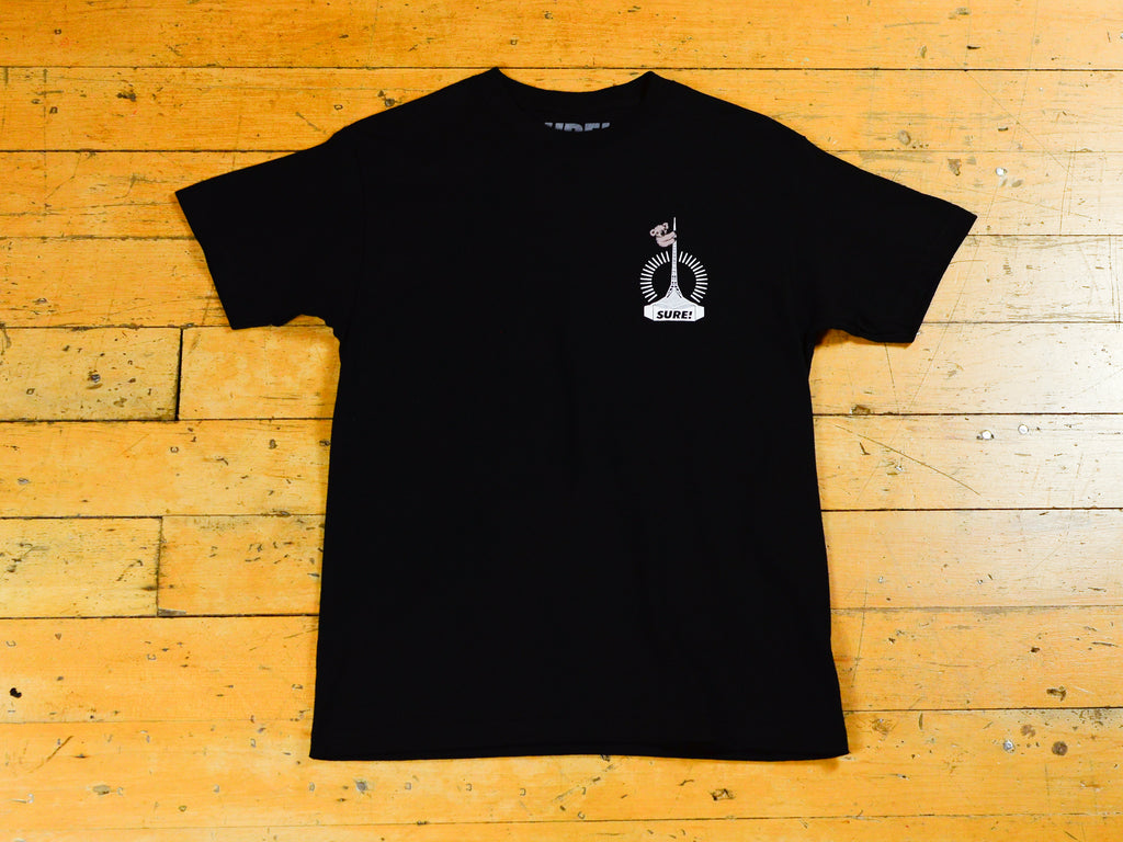 Art Clippy T-Shirt - Black