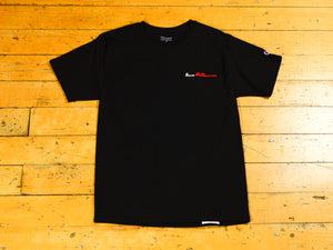 Sure Melbourne Embroidered Champion T-Shirt - Black