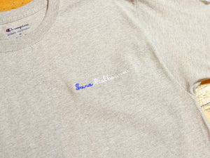 Sure Melbourne Embroidered Champion T-Shirt - Athletic Heather