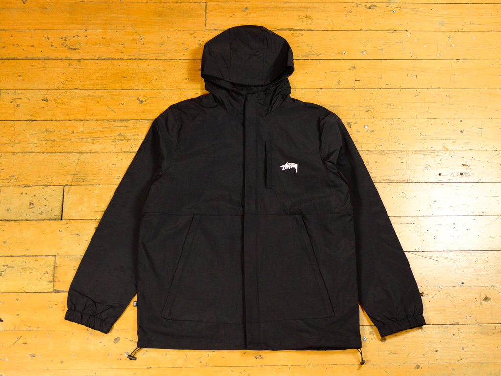 Stock Taslon Jacket - Black