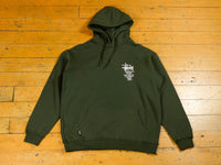 World Tour Hood - Solid Flight Green