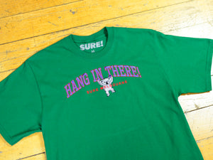 Hang In There T-Shirt - Forest Green