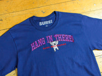 Hang In There T-Shirt - Navy