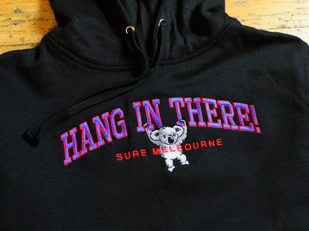 Hang In There Hood - Black