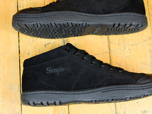 Retro 91 Mid Suede - Triple Black