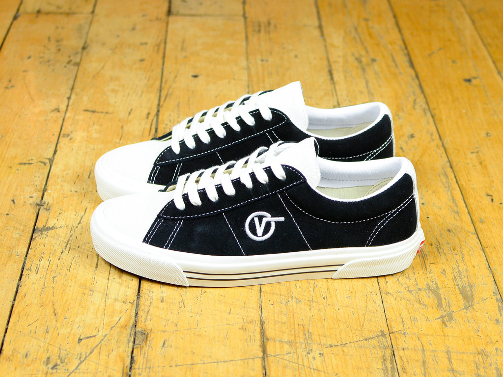 SID DX Anaheim Factory OG - Black / White Suede
