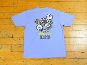 Workers T-Shirt - Sky Blue