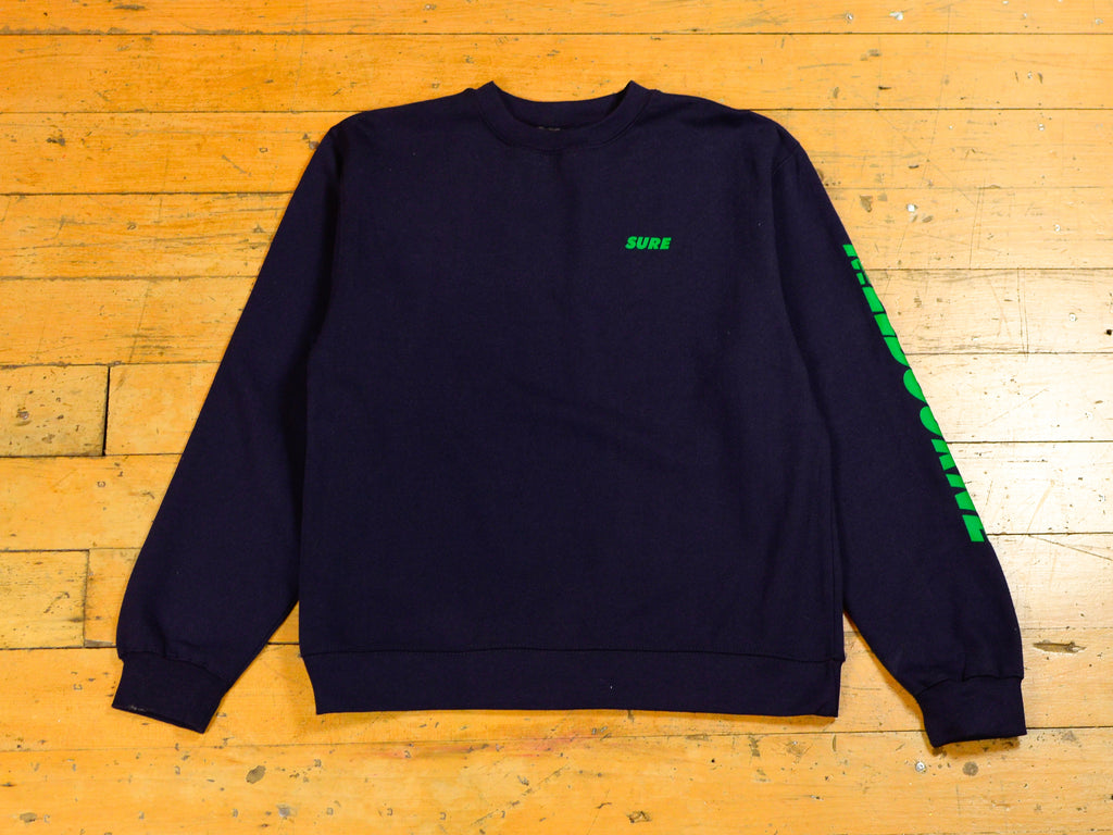 SM Runner Crew - Navy / Green