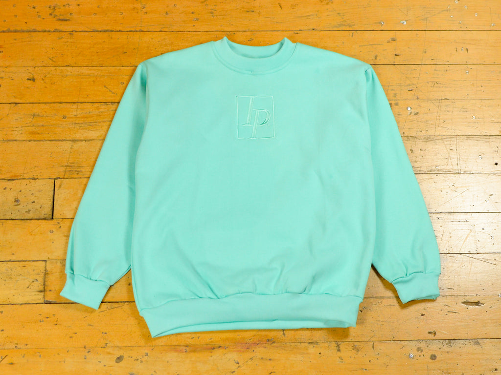 Heritage Embroidery Crew - Mint