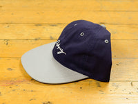 Pitchers Script Hat - Navy / Grey