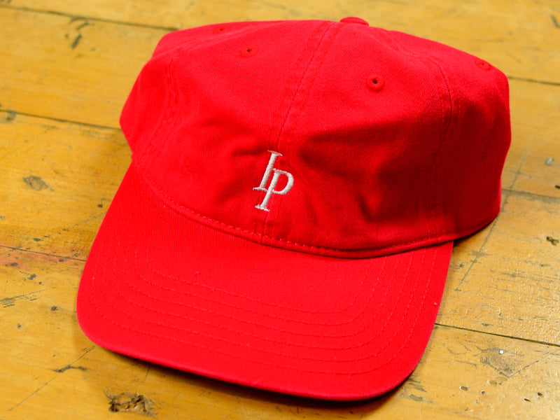 Heritage 6 Panel Hat - Red