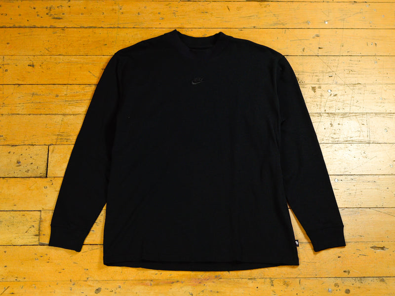 Nike Sportswear Tonal Long Sleeve T-Shirt - Black