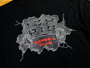 Barbell Club T-Shirt - Black