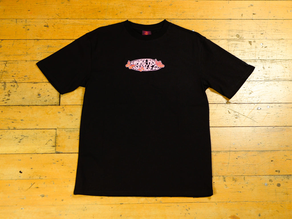 Butterflies SHVC Logo T-Shirt - Black