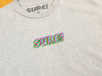 3D Embroidered Logo T-Shirt - Athletic Heather