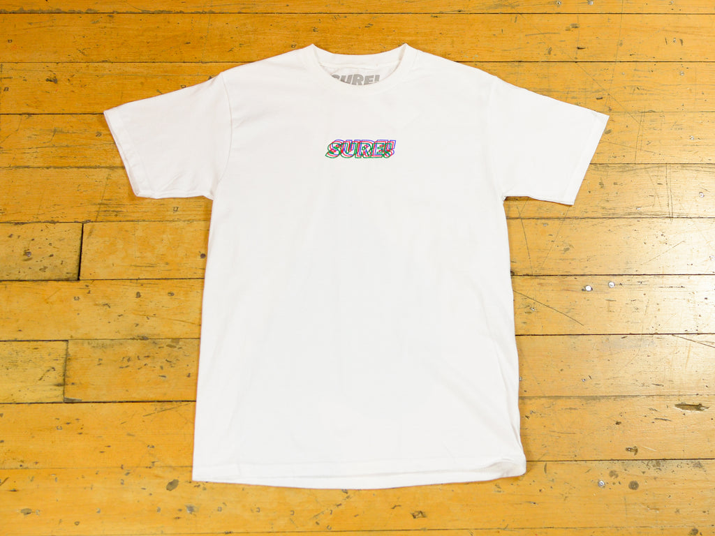 3D Embroidered Logo T-Shirt - White