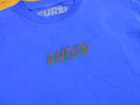 3D Embroidered Logo T-Shirt - Royal