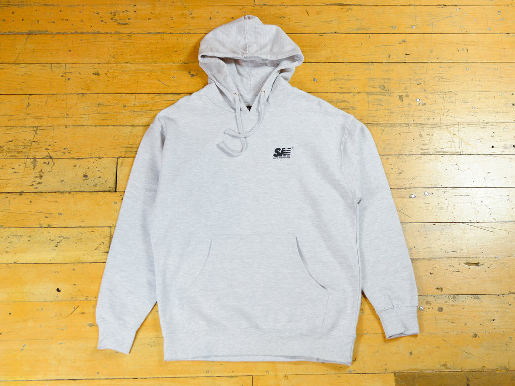 SM Classic Logo Hood - Athletic Heather / Black