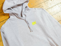 SM Classic Logo Hood - Athletic Heather / Sports Yellow