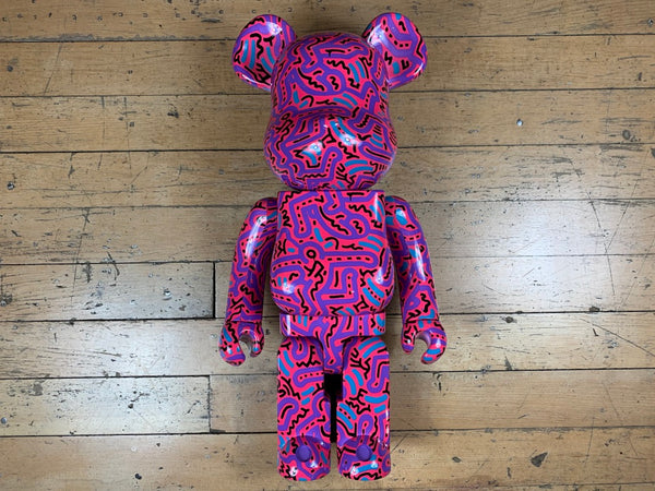 BE@R BRICK Keith Haring V2 1000%