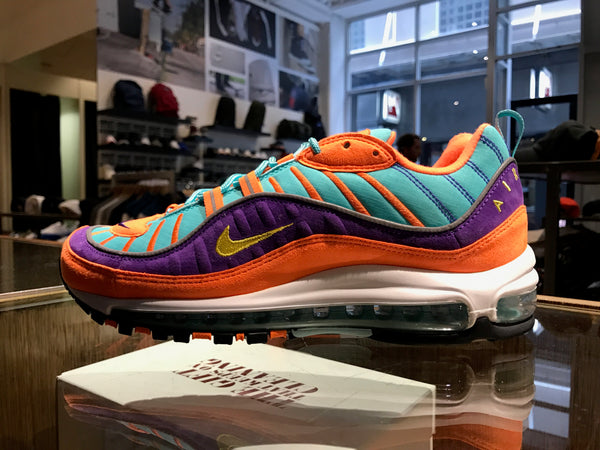 Air Max 98 QS - Tour Yellow/Hyper Grape