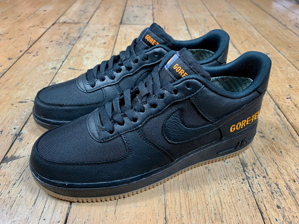 Air Force 1 GTX - Black/Black/Light Carbon