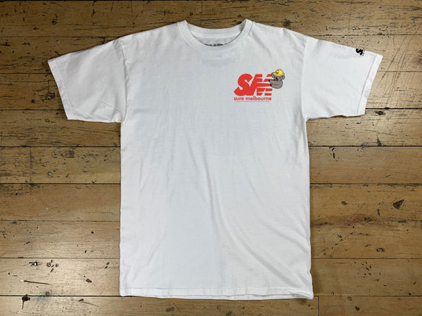 SM Clippy Relief T-Shirt - White