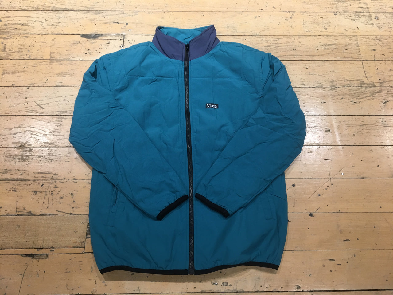 Duo Jacket - Navy/Teal