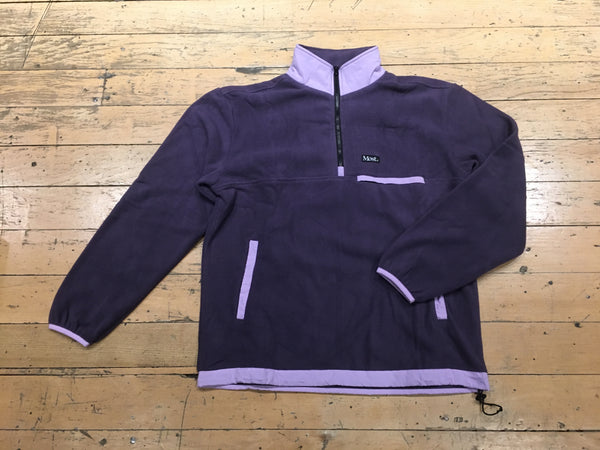 1/2 Zip Fleece Jacket - Purple/Lavender