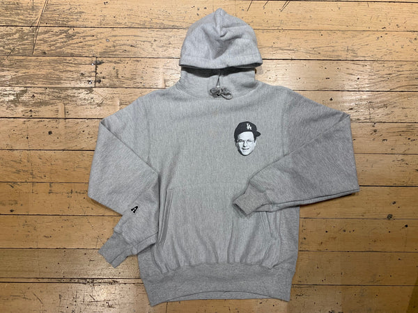 Straight Outta Pullover Sweat - Heather Grey