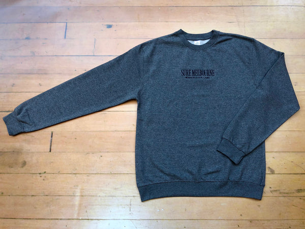 Sure Manchester Lane Embroidered Crewneck - Grey