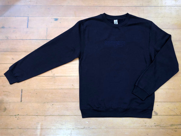 Sure Manchester Lane Embroidered Crewneck - Navy