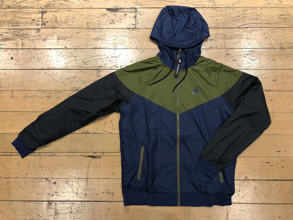 Windrunner Jacket - navy/olive