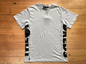 Sideways Tee - Ash Heather