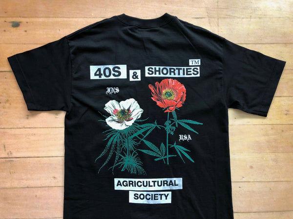 Agriculture Tee - Black