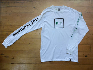 Domestic Long Sleeve Tee - White