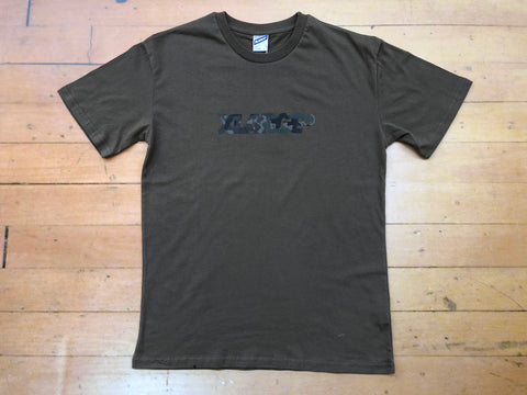 Camo XL Tee - Dark Putty