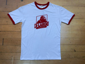Classic OG Ringer T-Shirt - White/Red