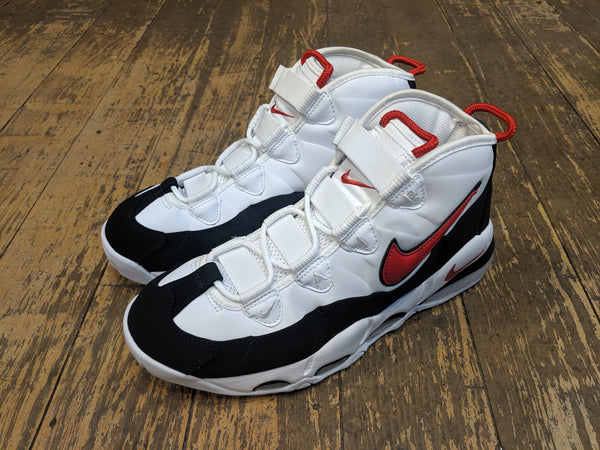 Air Max Uptempo '95 - white/university red-black