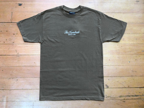 Rich Logo Tee - Safari Green
