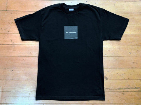 Box Text Logo Tee - Black