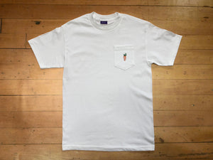 One Hit Patch Pocket Shirt - White