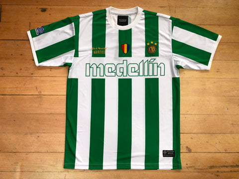 Nacional Team Jersey - Green/White