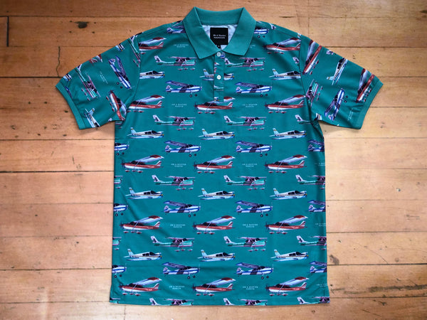 Transport Polo Shirt - Teal